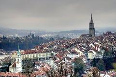 Bern w Szwajcaria Fotografia Royalty Free