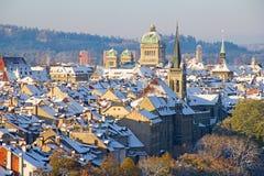 Bern in winter Stock Photos