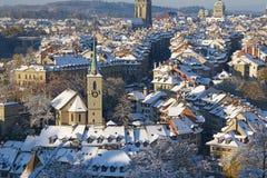 Bern in winter Stock Photo
