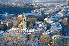 Bern in winter Royalty Free Stock Image