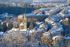 Bern in winter Royalty Free Stock Image