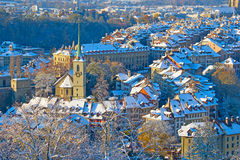 Bern in winter Stock Image