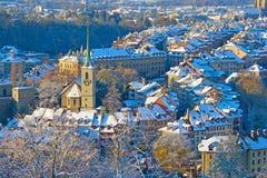Bern in winter Stock Image
