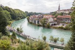 Bern, Zwitserland Royalty-vrije Stock Afbeelding