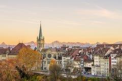 Berna in autunno Immagini Stock