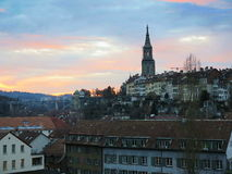 berna Imagem de Berna, capital de Suíça Foto de Stock Royalty Free