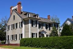 Berna nova, NC: Casa 1835 de Dixon Imagens de Stock