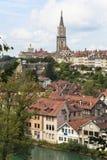 Berna, o capital de Switzerland. Imagem de Stock