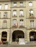 Berna, Suíça - 4 de junho de 2017: Museu de Albert Einstein dentro Foto de Stock Royalty Free