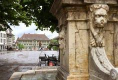 Berna, Suíça - 4 de junho de 2017: O headquart cantonal da polícia Imagens de Stock