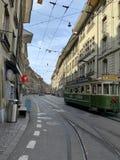 Berna, Suiza, Europa, calle, vida, día de fiesta fotografía de archivo