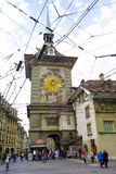 Berna, a torre de pulso de disparo, Suíça Foto de Stock