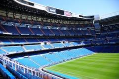 bernabeu圣地亚哥体育场 马德里 免版税库存图片