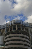 Bernabeu column. One of the columns in Santiago Bernabeu stadium. Real Madrid royalty free stock photos