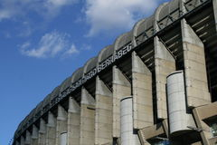 bernabeu estadio圣地亚哥 免版税库存照片