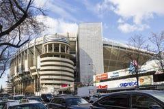 Bernabeu fotbollsarena, Madrid, Spanien Arkivfoto