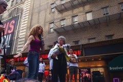 Bernadette Peters (lt.) & Rita Moreno Royalty Free Stock Image