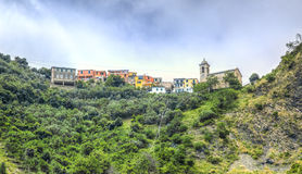 Bernadino Village - Cinque Terre- Italy Stock Photography