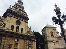 Bernadinsky修道院在利沃夫州 库存照片