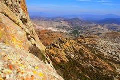 Bernal landscape I Royalty Free Stock Photo