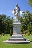 Bernard de Jussieu Statue Lizenzfreies Stockfoto