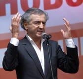 Bernard-Henri Lévy Imagem de Stock Royalty Free