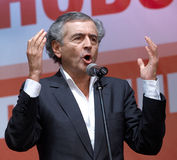 Bernard-Henri Lévy Royalty Free Stock Photos