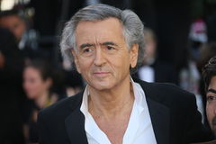 Bernard-Henri Levy. Attends 'The Last Face' Premiere during the 69th annual Cannes Film Festival at the Palais des Festivals on May 20, 2016 in Cannes, France Royalty Free Stock Photos