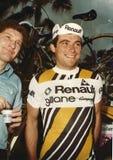 Bernard Hinault en el viaje de ciclo de Italia Foto de archivo libre de regalías