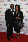 Bernard J Tyson και Denise Bradley-Tyson στοκ εικόνες