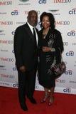 Bernard J Tyson e Denise Bradley-Tyson fotografia stock