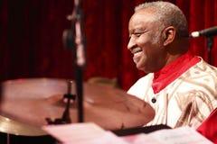 Bernard Purdie vivo en concierto Imagen de archivo