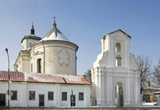 Bernardine Church of the Immaculate Conception in Slonim. Belarus.  Royalty Free Stock Image