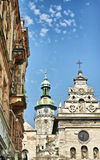 Bernardine Church in Lviv Stock Image