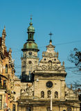 Bernardine Church and Monastery in Lviv Royalty Free Stock Images