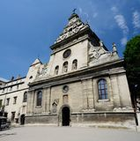 Bernardine church and monastery in Lviv,Western Ukraine Stock Photo