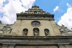 Bernardine Church and Monastery in the Old Town of Lviv. Ukraine Stock Photo