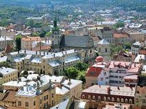 Bernardine Church of St. Andrew in Lviv, Ukraine Stock Images