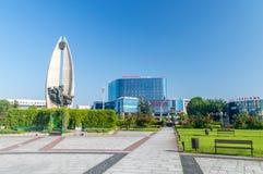 Free Bernardine Gardens With View Of Revolution Monument Royalty Free Stock Photo - 194595775
