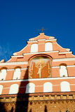Bernardine Kirche Lizenzfreie Stockbilder