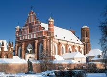 bernardine kościół Obrazy Stock