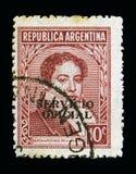 Bernardino Rivadavia (1780-1845), politiker, berömda argentinare Arkivfoton