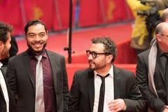 Bernardo Velasco και Alonso Ruizpalacios σε Berlinale 2018 στοκ εικόνα με δικαίωμα ελεύθερης χρήσης
