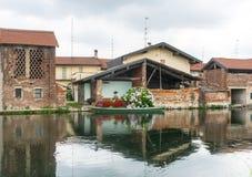 Bernate Mediolan, Włochy (,) Fotografia Stock