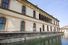 Bernate - Visconti Palace Stock Image