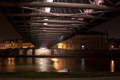Bernatka Bridge in Krakow Stock Images