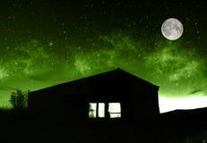 Übernatürliches Bauernhaus Stockfotos