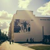 Bernauer Straße, Mitte, Berlim Foto de Stock Royalty Free