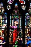 Bernay, France - 11 août 2016 : Église de Sainte Croix Image stock