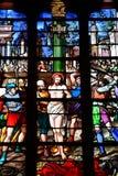 Bernay, Francja - august 11 2016: Sainte Croix kościół Zdjęcie Royalty Free